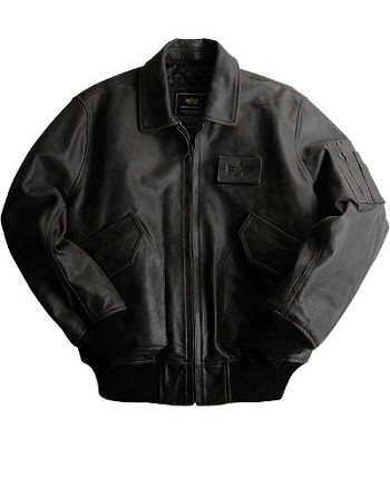 Alpha Leather CWU 45/P Flight Jacket
