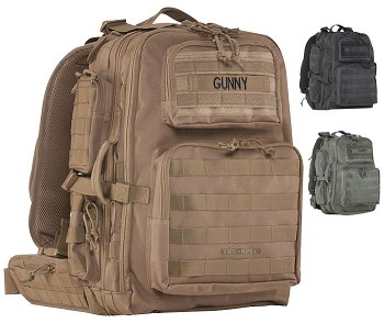 Tru-Spec Tour of Duty Gunny Approved MOLLE Compatible Tactical Backpack
