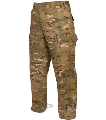 Zipper Fly Hunter's Multicam BDU Pant
