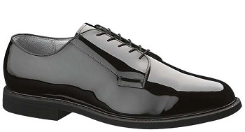 Bates High Gloss Leather Sole Oxford - 0007
