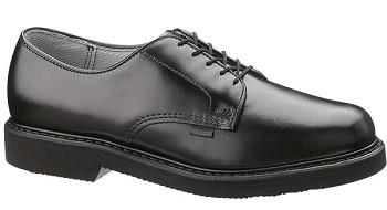 Bates Lites Black Leather Postal Oxford - 0056