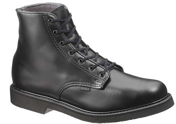 Bates Lites 6-inch Lace Up Leather Uniform Boot - 0058