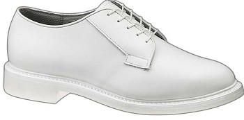 Bates Lites Men's White Leather Uniform Shoe - 0131