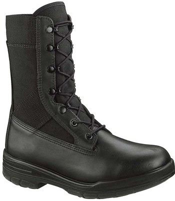 Bates Black Tropical Seals Durachock 8-inch Tactical Boots - 0922