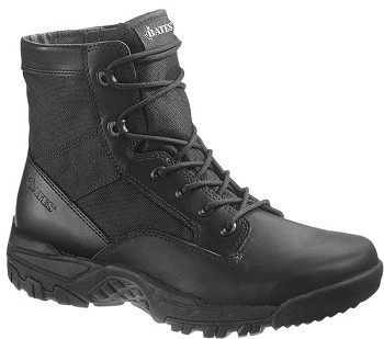 Bates Zero Mass Black 6-inch Side Zip Tactical Boot - 5162