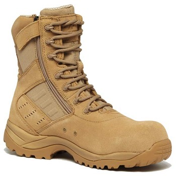 Belleville Guardian Desert Tan Side Zip Composite Toe Military Boots - TR336Z CT