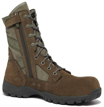 Belleville Flyweight Sage Green Side Zip Composite Toe Military Boots - TR696Z CT