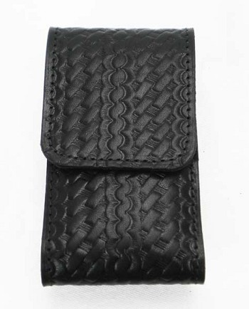 Basketweave Leather iPhone and Blackberry Cell Phone Case