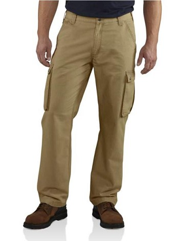 Carhartt Rugged Relaxed Fit Cargo Pants - Dark Khaki