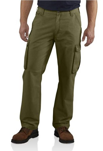 Carhartt Rugged Relaxed Fit Cargo Pants - Army Green