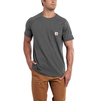Carhartt Force Relaxed Fit Short Sleeve Cotton T-Shirt