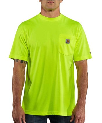 Carhartt Force High Visibility Short Sleeve T-Shirt