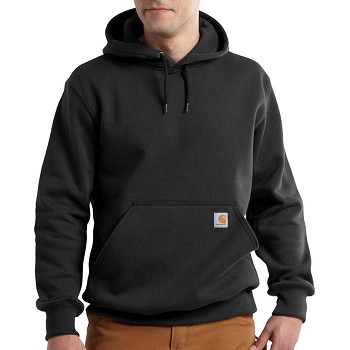 Carhartt Paxton Rain Defender Black Heavyweight Hoodie