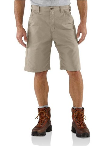 Carhartt Canvas Tan Work Shorts