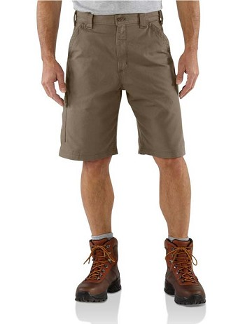 Carhartt Canvas Light Brown Work Shorts