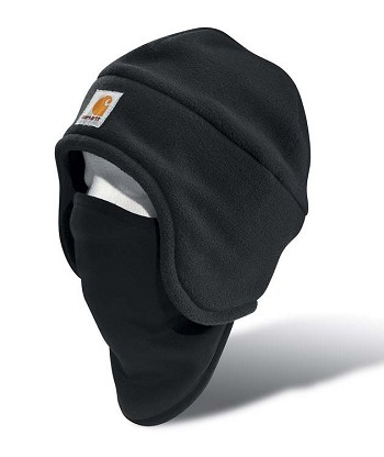 Carhartt Fleece 2-in-1 Winter Hat and Facemask