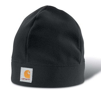 Carhart Black Fleece Winter Hat