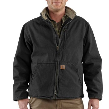 Carhartt Mens Sherpa Lined Muskegon Jacket