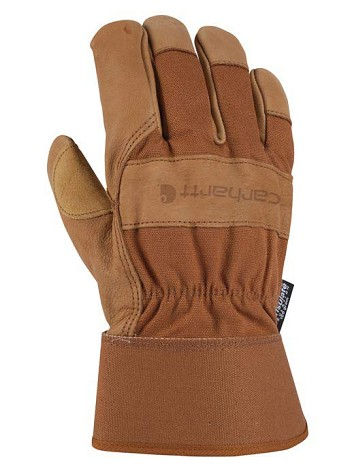 Carhartt Insulated Grain Leather Work Glove with Safety Cuff