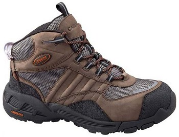 Carolina 6549: Steel Toe AeroTrek Athletic Mid Boot - Brown
