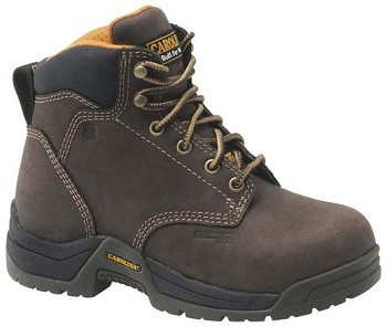 Carolina CA1428: Womens 5-inch Internal Metguard Boot - Brown