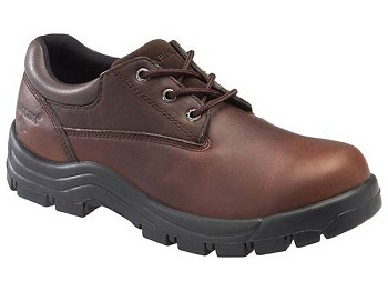 Carolina CA1528: Work-Smart Steel Toe Brown Work Shoe