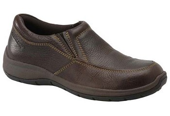 Carolina CA1562: Steel Toe AeroGrip Slip On Shoe - Chestnut