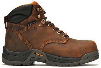 Carolina CA1620 Copper 6-inch Composite Broad Toe Waterproof Work Boot