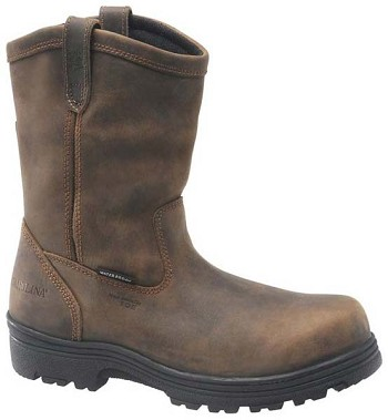 Carolina CA2533 Dark Brown Waterproof Composite Toe Wellington Boot