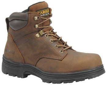 Carolina CA3026: 6-inch Brown Leather Waterproof Work Boot