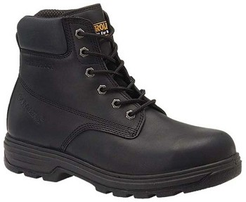 Carolina CA3517: 6-inch Waterproof Steel Toe Work Boot - Black