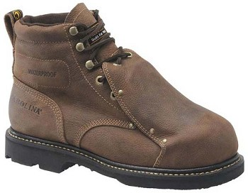 Carolina CA5501:6-inch Waterproof Broad Toe Met Guard Boot