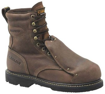 Carolina CA5502:8-inch Waterproof Broad Toe Met Guard Boot