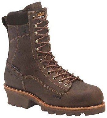 Carolina CA7021 8-inch Insulated Waterproof Logger Boot - Cork Harness
