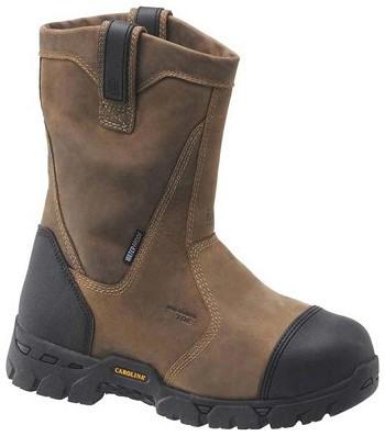 Carolina CA7533:Waterproof Broad Toe Internal Metguard Wellington Boot