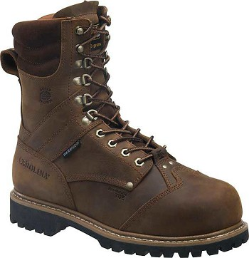 Carolina Composite Toe Insulated Waterproof Internal Metguard Boot