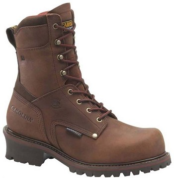 Carolina CA8508: 9-inch Broad Toe Insulated Waterproof Logger Boot