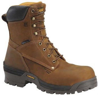Carolina CA8525: 8-inch Waterproof Composite Broad Toe Logger Boot