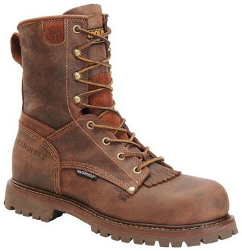 Carolina CA8528: 8-inch Waterproof Composite Toe Work Boot