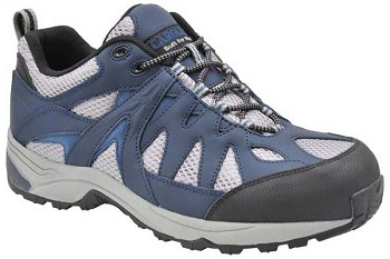 Carolina CA9508: Safety Toe Athletic Work Shoe - Dark Blue
