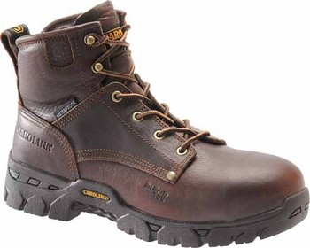 Carolina CA3011: Brown 6 inch Brown Waterproof Work Boot - Briar Pitstop