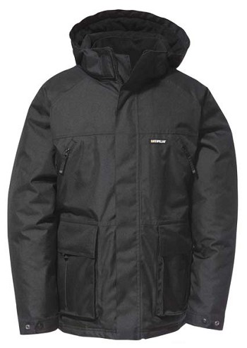 Caterpillar Technical V2 Black Insulated Jacket