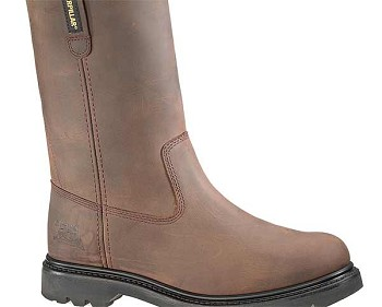 Caterpillar Revolver Dark Brown Steel Toe Boot - P89516