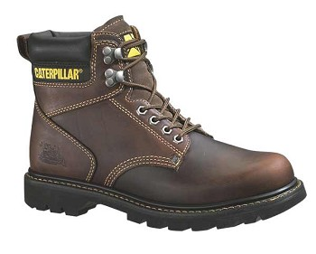 Caterpillar Second Shift Tan Steel Toe Boot - P89817