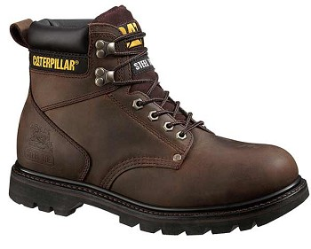 Caterpillar Second Shift Dark Brown Work Boot - P72593