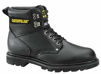 Caterpillar Second Shift Black Steel Toe Boot - P89135