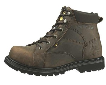 Caterpillar Whiston Dark Brown Steel Toe Boot - P89772
