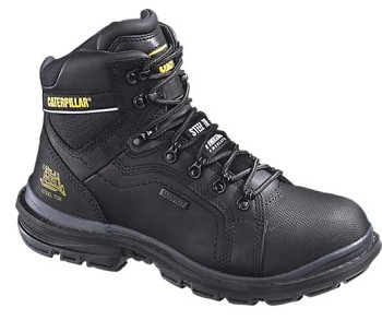 CAT Manifold 6-inch Black Insulated WP Steel Toe Work Boot