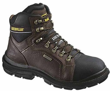 CAT Manifold 6-inch Insulated WP Brown Steel Toe Work Boot
