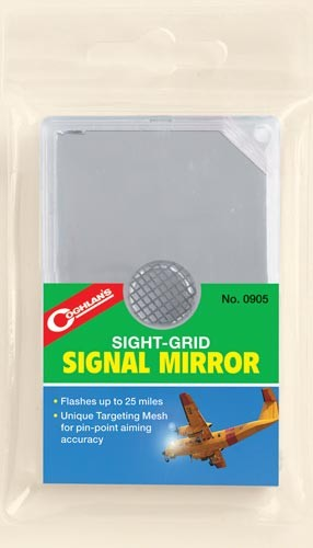 Sight-grid Signal Mirror